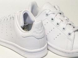 アディダス☆キッズスニーカー【adidas】スタンスミス(STAN SMITH) EL C/ ランニングホワイト×ランニングホワイト / BA8388