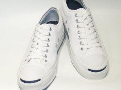 コンバース☆スニーカー【CONVERSE】ジャックパーセル (JACK PURCELL) / ホワイト (WHITE) / 1R193